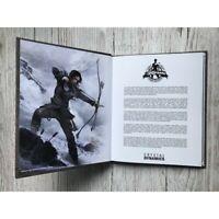 TOMB RAIDER Hardcover ARTBOOK Limited Edition New Collectors LARA CROFT 20 YEARS