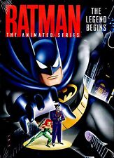 NEW DVD // Batman: The Animated Series - The Legend Begins // 5 EPISODES 110 min