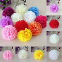 Artificial Carnation Handmade Silk Fake Flower Head Wedding Decorate Plant