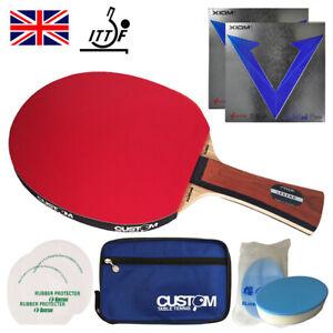 Stiga Allround Classic Legend Custom Table Tennis Bat XIOM EURO DF UK Fast Post