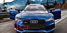 Original Audi RS7 Derecho Rejilla Parachoques Delantero Embellecedores Negro