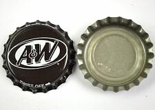 Vintage a & w root beer Marron capsules usa soda Bottle Cap