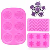 DIY Silicone Ice Cube Candy Chocolate Cake Cookie Cupcake Soap Handmade Molds