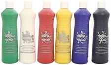 Kids Washable Paint Wash Off Paints Childrens Colour Squeezy Bottles Painting