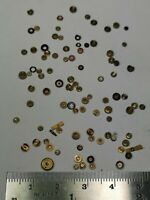 Vintage English Fusee Pocket Watch Jewels - Useful Watchmakers Spares (S23)