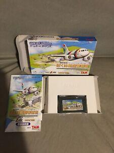Air Traffic Controller Nintendo Gameboy Advance GBA Japan Import Region Free Sim