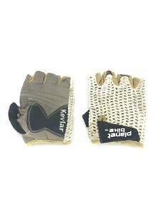 Planet Bike Net Cycling Fitness Gloves Size Small Unisex Leather Palm