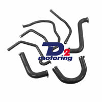Silicone Radiator Hose For Holden Commodore VY V8 5.7 LS1 2002-2004 Black D2