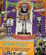 Groovie Ghoulies Festival original promo poster