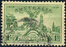 AUSTRALIE CENTENAIRE DE LA COLONIE DE L'AUSTRALIE DU SUD N° 109 OBLITERE