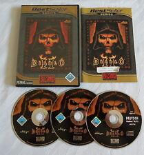 Diablo II - 2 für PC - CIB - Komplett !