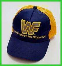NEW WWF TRUCKER HAT CAP WORLD WRESTLING FEDERATION boys girls youth Unisex