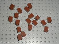 18 LEGO RedBrown bricks 1x1 ref 3005 / set 7785 4756 10144 10193 10188 10152 ...