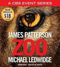 Zoo by James Patterson and Michael Ledwidge (2015, CD, Unabridged)