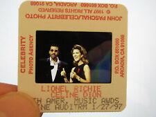 More details for original press promo slide negative - celine dion & lionel richie - 1997