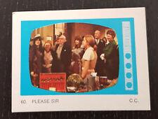 Monty Gum trading card 1970 TV Series: Please Sir #60