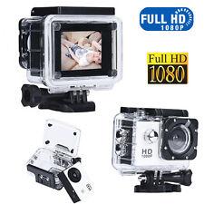 1080p Full HD SJ5000 DV SPORT REGISTRATORE TELECAMERA AUTO IMPERMEABILE BIANCO