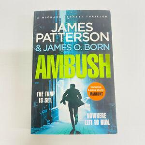Ambush by James Patterson Paperback Book the Trap is Set Free Post