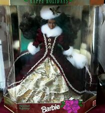 1996 Mattel - Barbie - Happy Holiday - Special Edition - African American #15647