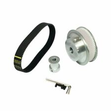 3M Belt Kit Pulley 3:1 60 Teeth  Teeth Shaft Center Distance+Closed-loop Timing