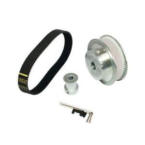 3M Belt Kit Pulley 3:1 60 Teeth  Teeth Shaft Center Distance+Closed-loop Timing