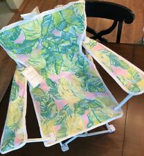 NWT Pottery Barn Kids Lilly Pulitzer Freeport Chair Palm Local Flavor