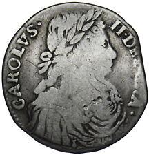 More details for 1673 scotland merk - charles ii silver coin