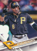 Starling Marte 2017 Topps Series 1 #58 Pittsburgh Pirates card