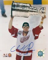 DARREN McCARTY SIGNED DETROIT RED WINGS STANLEY CUP 8x10 PHOTO #1 Autograph