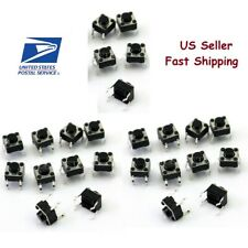 25 PCs Tactile Tact Push Button Switch Momentary 6x6x5mm - USA seller