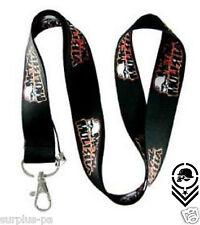 Metal Mulisha Skull Lanyard ID Holder Keychain  Motocross Cell Phone BMX WAKE