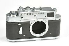 ZORKI 4K body, rangefinder camera  based on Leica, after CLA service,
