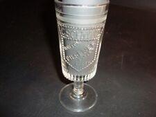 Circa 1900 C. Schwind Beer Stemware Glass, Dayton, Ohio
