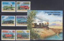 Guinea 1997 Steam Locomotives Sc 1450-1456  Mint Never Hinged