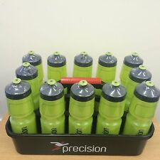 WATER BOTTLES (GREEN) x 12 + CARRY TRAY