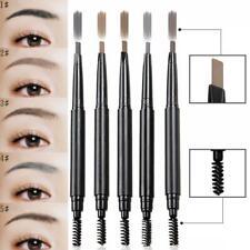 5 Colors Microblading Eye Brow Eyebrow Pen Pencil Slim Brush Makeup Tools
