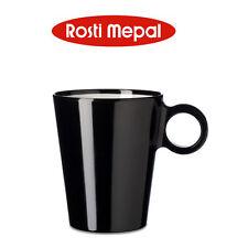 Rosti Mepal - Taza con asa Flujo 300 ml, negro