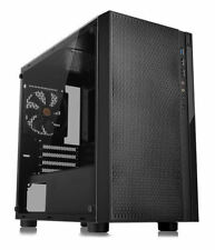 Thermaltake Versa H18 Tempered Glass MATX/Mini ITX Case, CA-1J4-00S1WN-01