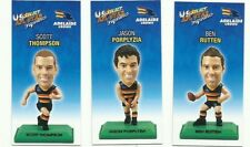 ADELAIDE CROWS 2009 Select AFL COLOUR Figurine picture card Team Set 3 CARDS