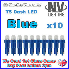 10 X Car T5 73 74 286 Dashboard LED Light Bulb Lamp 12V Replacement