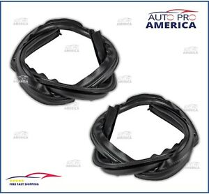 OEM 1999-2016 Ford F250 F350 SuperDuty Upper LH & RH Roof Door Weatherstrip Seal