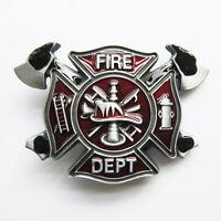 Men Belt Buckle Fire Firefighter Belt Buckle Gurtelschnalle also Stock in US