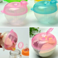 EE_ 3 INTERLAYER DISPENSER FOOD STORAGE CONTAINER BABY FEEDING MILK POWDER BOX O