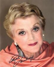 ANGELA LANSBURY #1 REPRINT AUTOGRAPHED SIGNED PICTURE PHOTO MURDER SHE WROTE RP