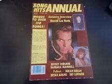 Pat Benatar, Donna Summer, David Lee Roth - Song Hits Annual Magazine 1984