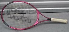 "Prince Wimbledon Maria Sharapova Tennis Racquet Racket 4 3/8"" grip Pink"