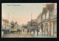 Dorset POOLE High St Longfleet Tram #5 CT SNOOK Post Office pre1919 PPC
