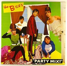 """12"""" LP - The B-52's - Party Mix - #C2419 - washed & cleaned"""