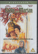 Robin and Marian - Sean Connery, Audrey Hepburn, Robert Shaw New & Sealed R2 DVD