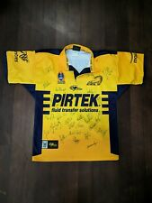 NRL RUGBY LEAGUE PARRAMATTA EELS JUMPER JERSEY 2004/05 Team Signed Autographed